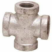 PROPLUS 1/4 IN. GALVANIZED MALLEABLE CROSS
