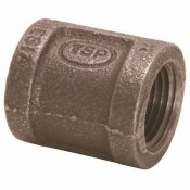 PROPLUS 1/4 IN. BLACK MALLEABLE COUPLING