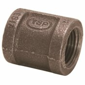 PROPLUS 1/2 IN. BLACK MALLEABLE COUPLING