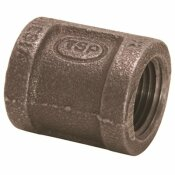 PROPLUS 1/2 IN. X 3/8 IN. BLACK MALLEABLE REDUCING COUPLING