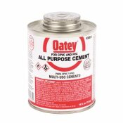 OATEY 16 OZ. ABS RED LABEL ALL-PURPOSE CEMENT