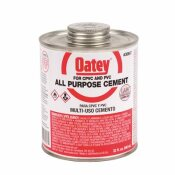 NOT FOR SALE - 451017 - OATEY 32 OZ. MEDIUM MILKY PVC, CPVC, ABS ALL-PURPOSE PIPE CEMENT - OATEY PART #: 30847