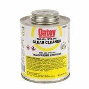 NOT FOR SALE - 451037 - OATEY 16 OZ. PVC CLEAR CLEANER - OATEY PART #: 307953