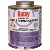 OATEY 32 OZ. PURPLE PIPE PRIMER AND CLEANER