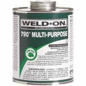WELD-ON 32 OZ. PVC 790 MULTI-PURPOSE CEMENT IN CLEAR - WELD-ON PART #: 10257