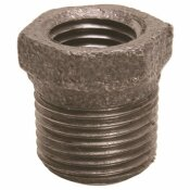PROPLUS 1-1/2 IN. X 1 IN. BLACK MALLEABLE BUSHING