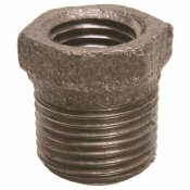 PROPLUS 1-1/4 IN. X 3/4 IN. BLACK MALLEABLE BUSHING
