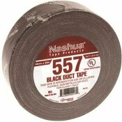 NASHUA TAPE 1.89 IN. X 60 YDS. UL181B FX LISTED DUCT TAPE IN BLACK