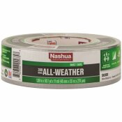 NASHUA TAPE 1.89 IN. X 60 YD. 398 ALL-WEATHER HVAC DUCT TAPE IN SILVER - NASHUA TAPE PART #: 1526409