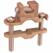 THOMAS & BETTS 1/2 IN. - 1 IN. BRONZE LAY-IN GROUND CLAMP