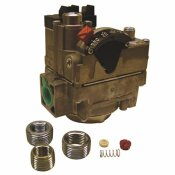 ROBERTSHAW COMBINATION DUAL GAS VALVE WITHOUT SIDE TAPS