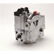 ROBERTSHAW COMBINATION DUAL GAS VALVE WITH SIDE TAPS