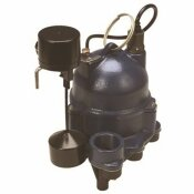 MYERS 1/3 HP RESIDENTIAL VERTICAL SUMP PUMP WITH PIGGYBACK PLUG - MYERS PART #: MDC33V1