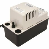 FRANKLIN ELECTRIC AUTOMATIC CONDENSATE REMOVAL PUMP WITH 6-FOOT CORD, 11X5X7 IN., 80 GPH, 115 VOLTS