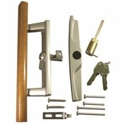 STRYBUC INDUSTRIES 3-15/16 IN. HOLE CENTERS SLIDING PATIO GLASS DOOR HANDLE SET