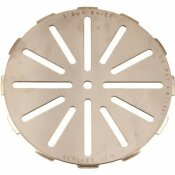 SIOUX CHIEF REPLACE-IT ADJUSTABLE FLOOR DRAIN STRAINER, 7-1/4 IN., STAINLESS STEEL