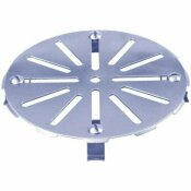 NOT FOR SALE - 561127 - NOT FOR SALE - 561127 - SIOUX CHIEF REPLACE-IT FLOOR DRAIN STRAINER 9 IN., STAINLESS STEEL - SIOUX CHIEF PART #: 847-9