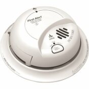 FIRST ALERT HARDWIRED INTERCONNECTED SMOKE AND CO ALARM WITH BATTERY BACKUP