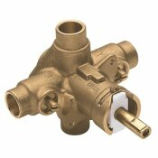 MOEN POSI-TEMP TUB AND SHOWER VALVE, SWEAT