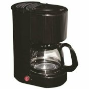 4-CUP BLACK COFFEE MAKER