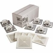 BROAN 50 CFM BATH EXHAUST FAN MOTOR ASSEMBLY AND GRILLE ONLY IN WHITE