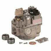 ROBERTSHAW 24-VOLT 3/4 IN. INLET 3/4 IN. OUTLET UNI-KIT COMBINATION GAS VALVE