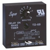 SUPCO TIME DELAY ON MAKE