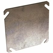 RACO 4 IN. SQUARE FLAT, BLANK COVER