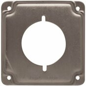 RACO 4 IN. SQUARE EXPOSED WORK COVER FOR 30-50A RECEPTACLE