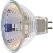 SATCO 50-WATT MR16 FLOOD HALOGEN LIGHT BULB