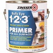 ZINSSER BULLS EYE 1-2-3 1 GAL. WHITE WATER-BASED INTERIOR/EXTERIOR PRIMER AND SEALER