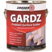 ZINSSER 1 GAL. GARDZ CLEAR WATER-BASED INTERIOR DRYWALL PRIMER AND PROBLEM SURFACE SEALER - ZINSSER PART #: 2301