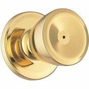 WEISER BEVERLY SATIN CHROME BED/BATH DOOR KNOB - WEISER PART #: GAC331B26DB6LS1R1