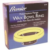 PREMIER WAX RING WITH POLYETHYLENE FLANGE