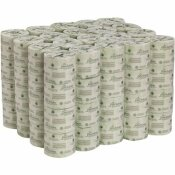 GEORGIA-PACIFIC 2-PLY BATHROOM TISSUE, TOILET PAPER, WHITE (80-ROLLS PER CASE)