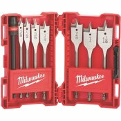 MILWAUKEE HIGH SPEED WOOD SPADE BIT SET (8-PIECE)