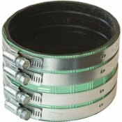 FERNCO HEAVY-DUTY NO-HUB COUPLING, 4 IN.