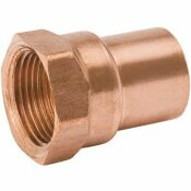 NOT FOR SALE - 952552 - NOT FOR SALE - 952552 - STREAMLINE 2-1/2 IN. C X FPT COPPER FEMALE ADAPTER - MUELLER PART #: W 01296