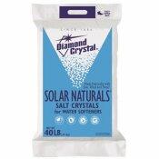 DIAMOND CRYSTAL SOLAR NATURALS WATER SOFTENER SALT CRYSTALS