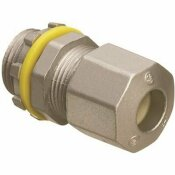 ARLINGTON INDUSTRIES 1/2 IN. ARLINGTON STRAIN RELIEF CORD NON-METALLIC CONNECTOR WITH LIQUID TIGHT/OIL TIGHT