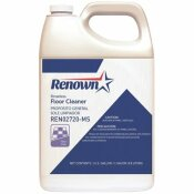 RENOWN RINSELESS FLOOR CLEANER, 1 GAL., 4 PER CASE - RENOWN PART #: 111384