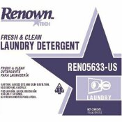 RENOWN 15 GAL. FRESH AND CLEAN LIQUID LAUNDRY DETERGENT