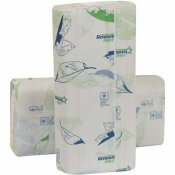 RENOWN WHITE C-FOLD PAPER TOWELS (150 SHEETS PER PACK 16 PACKS PER CASE)