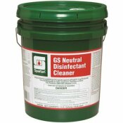 SPARTAN GS NEUTRAL DISINFECTANT CLEANER 5 GAL. 1-STEP CLEANER/DISINFECTANT - SPARTAN PART #: 350205