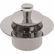 MATCO-NORCA LIFT AND TURN WASTE AND OVERFLOW, 1-1/2 IN., CHROME PLATED BRASS