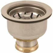 PREMIER LEAK PRUF BASKET STRAINER WITH SNAP-IN CUP