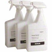 NOT FOR SALE - SX-0447938 - KOHLER WATERLESS TOILET CHEMICAL 1 L URINAL CLEANER (3-PACK) - KOHLER PART #: 1174866