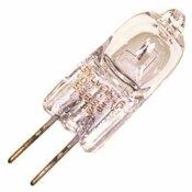 SYLVANIA 20-WATT, 12-VOLT, G4 BI-PIN, CLEAR, TUNGSTEN T3 HALOGEN QUARTZ LAMP WITH UV FILTER
