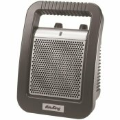 AIR KING 1,500-WATT CERAMIC PORTABLE HEATER WITH ADJUSTABLE THERMOSTAT