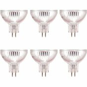 SYLVANIA 20-WATT MR16 FLOOD AND SPOT HALOGEN LIGHT BULB (6-PACK)